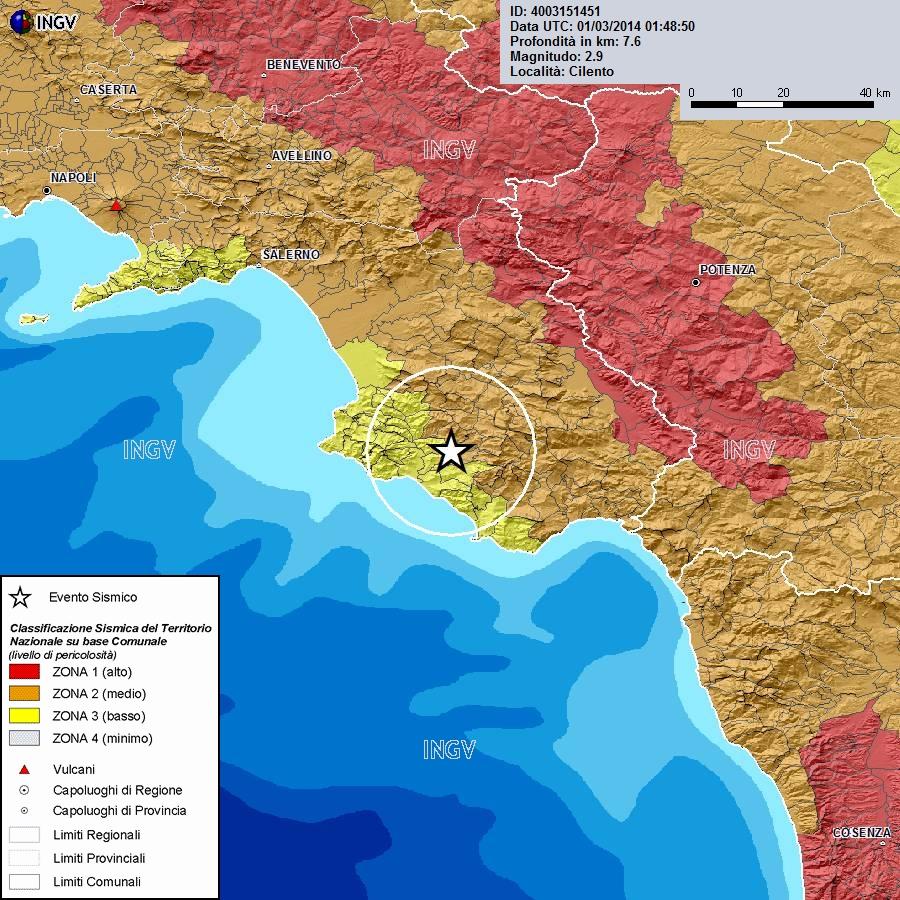 Scossa di magnitudo 2 9 a vallo della lucania - Agenzie immobiliari vallo della lucania ...