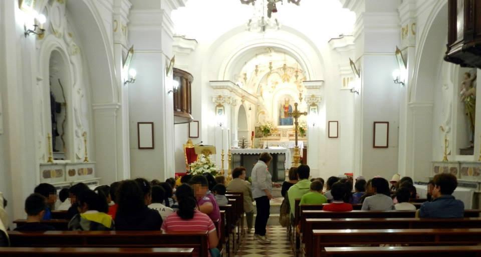 La scuola di Scario in visita al Santuario di Pietrasanta \