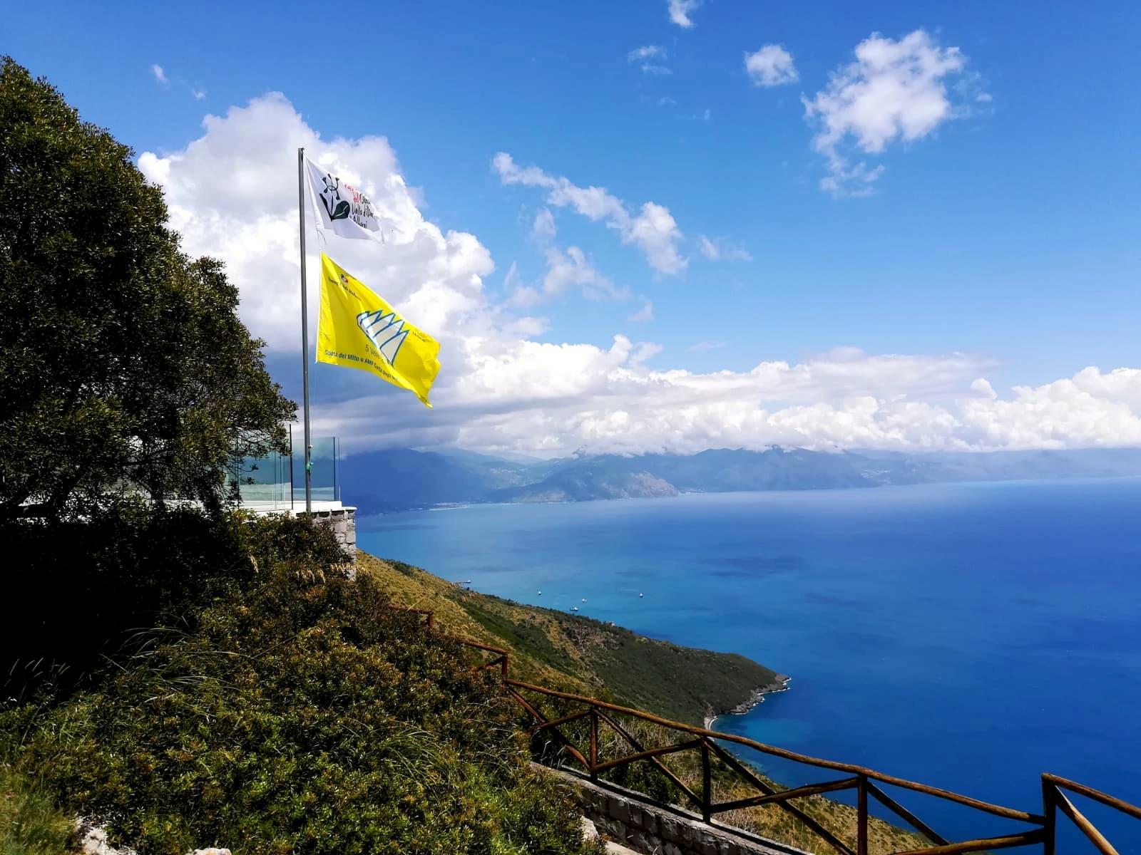 Confermate le 5 Vele di Legambiente per il Comune di San Giovanni a Piro, prezioso riconoscimento per il mare piu' bello
