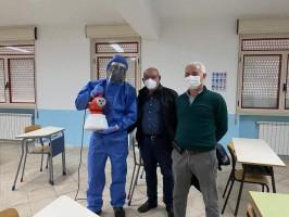 Santa Marina: sanificazione degli edifici scolastici e degli uffici pubblici